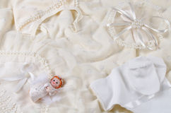 Одежды младенца Стоковое Фото