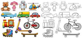 经典玩具 免版税库存图片