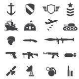 Воинские значки Стоковая Фотография