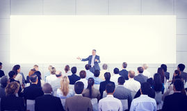 Семинара разнообразия представления бизнесмены концепции команды Стоковое Изображение