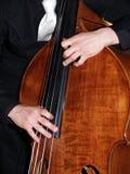 低音爵士乐 免版税图库摄影