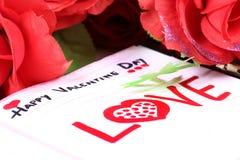 Валентайн дня счастливое Стоковые Фотографии RF