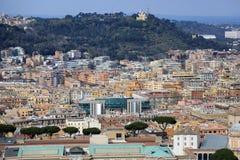 空中罗马视图 库存照片