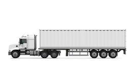 货物送货卡车 免版税图库摄影