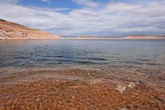 在湖鲍威尔的春天 图库摄影