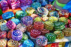 市场在舍夫沙万,摩洛哥 免版税库存照片