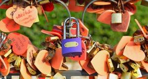 锁的挂锁 免版税库存照片