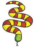 蛇 皇族释放例证