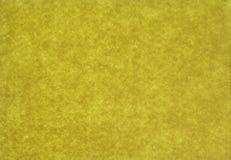 黄色毛毡背景 免版税库存图片