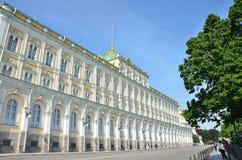 Москва, Россия, президентский дворец в Кремле Стоковая Фотография RF