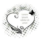 διάνυσμα κειμένων απεικόνισης πλαισίων Στοκ εικόνα με δικαίωμα ελεύθερης χρήσης