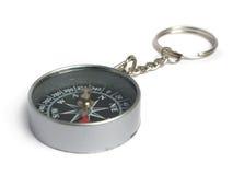 指南针钥匙圈 免版税库存图片