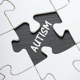 Головоломка аутизма Стоковое Фото