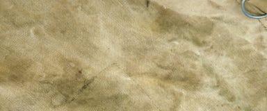 被风化的老淡绿色的陷井织品背景 免版税库存照片