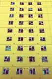 Παράθυρα φραγμών πύργων πολυόροφων κτιρίων Στοκ φωτογραφία με δικαίωμα ελεύθερης χρήσης