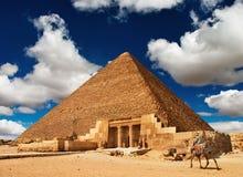 египетская пирамидка Стоковая Фотография RF