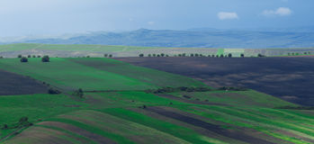 风景在特兰西瓦尼亚,罗马尼亚 免版税库存图片