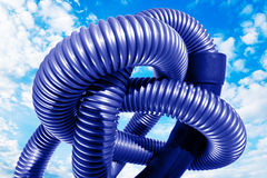 塑料管 免版税库存图片