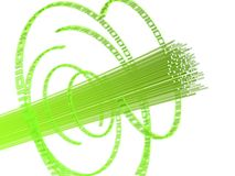 провод волокна Стоковые Фото