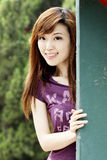 китайские девушки симпатичные Стоковое Изображение