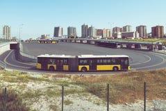 Автобусная станция Стоковая Фотография