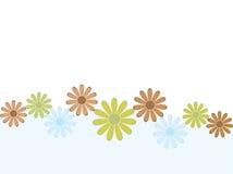 ретро предпосылки флористическое Стоковое Изображение
