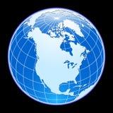 地球向量 库存照片