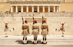 Афины, изменять предохранителя Стоковая Фотография