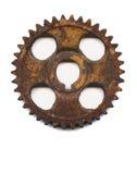 生锈的齿轮 库存照片