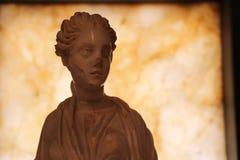 谬斯雕塑 库存图片
