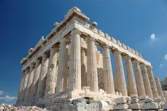雅典希腊帕台农神庙 库存图片
