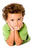 детеныши мальчика Стоковое фото RF