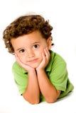 детеныши мальчика Стоковая Фотография