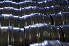 啤酒酒桶 免版税库存图片