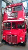 伦敦经典双层汽车  免版税图库摄影