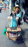 Продавец улицы Стоковые Фотографии RF