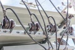 σύνδεσμοι ηλεκτρικοί Στοκ φωτογραφία με δικαίωμα ελεύθερης χρήσης