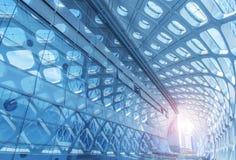 Σύγχρονη αρχιτεκτονική του αερολιμένα Στοκ φωτογραφίες με δικαίωμα ελεύθερης χρήσης