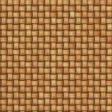 Безшовная плетеная текстура Стоковое Фото