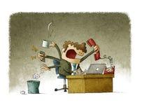 бизнесмен многодельный Стоковое Фото