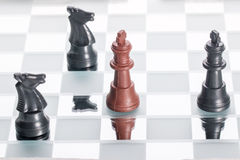 一盘象棋 图库摄影