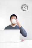中断茶 免版税库存图片