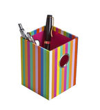 Держатель ручки и карандаша Стоковое Изображение