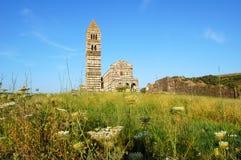 教会罗马式 库存照片