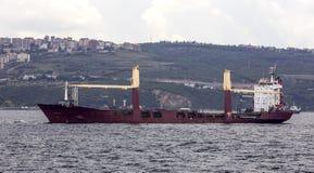货物干燥船 库存照片