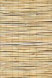 竹子窗帘 免版税库存图片