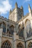 南部的巴恩修道院在英国西部 免版税库存图片