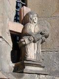άγαλμα του Ιησού Μαρία Στοκ φωτογραφία με δικαίωμα ελεύθερης χρήσης
