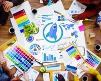 Νέα σφαιρική επιχειρησιακή έννοια ομαδικής εργασίας καινοτομίας επιχειρησιακών διαγραμμάτων Στοκ εικόνες με δικαίωμα ελεύθερης χρήσης