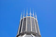 天主教大教堂锥体,利物浦 库存照片